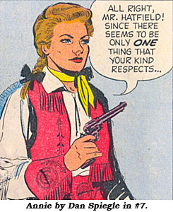 Annie by Dan Spiegle in #7.