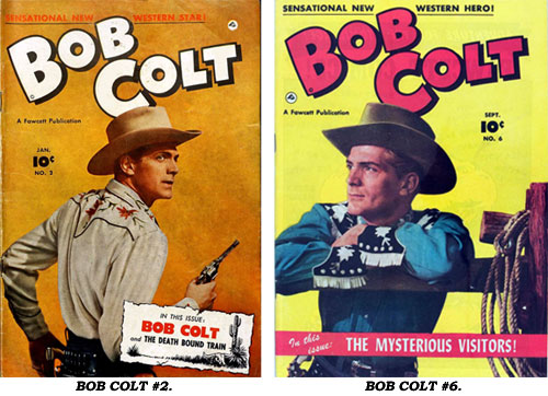 Covers to BOB COLT #2 and #6.