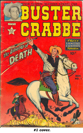 Cover of BUSTER CRABBE #1.