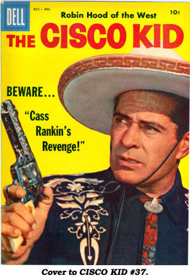 Cover To CISCO KID 37