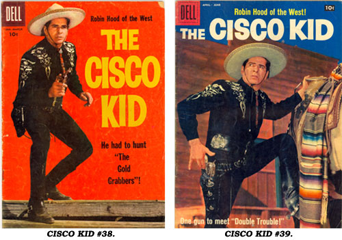 Covers To CISCO KID 38 And 39
