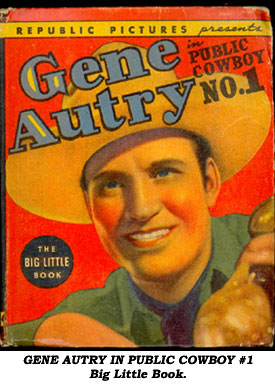 Gene Autry Comic Book Cowboys By Boyd Magers