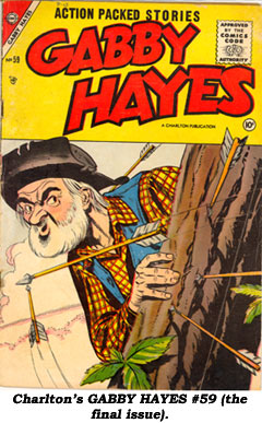 Charlton's GABBY HAYES #59 (the final issue).