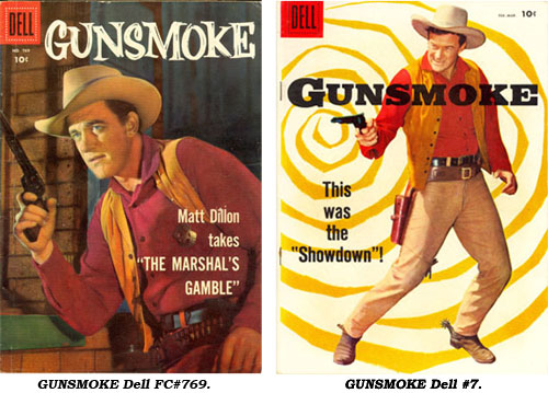 Covers to GUNSMOKE FC#679 and #7.