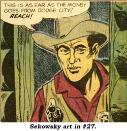 Sekowsky art in #27.