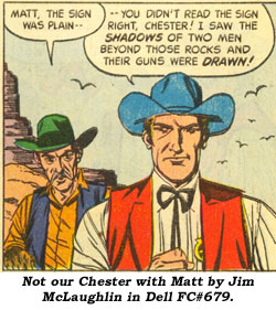 Not our Chester with Matt by Jim McLaughlin in Dell FC#679.