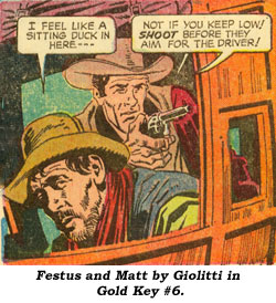 Festus and Matt by Giolitti in Gold Key #6.