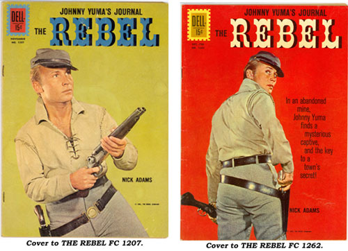 Covers to THE REBEL FC 1207 and FC 1262.