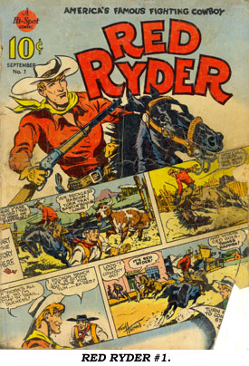 Cover to RED RYDER #1.