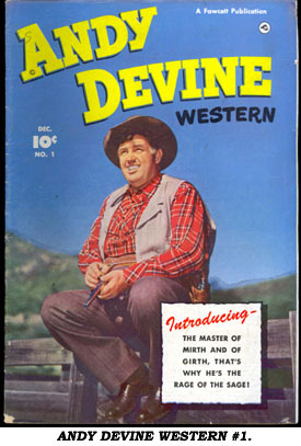 ANDY DEVINE WESTERN #1.