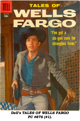 Dell's TALES OF WELLS FARGO FC#876 (#1).