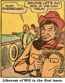 Likeness of Will in the first issue.