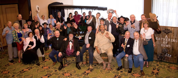 "The stars and the co-sponsors say Hi and hope you'll be back for ""A Gathering of Guns 5"" June 6-8, 2013."