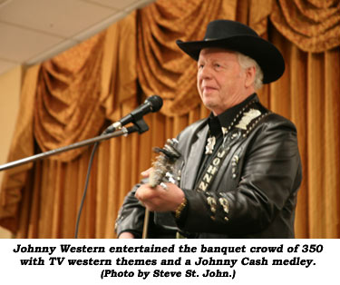 Johnny Western Johnny Western entertained the