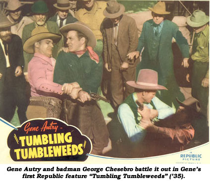 George Chesebro & Gene Autry