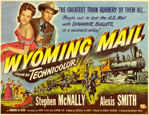 "Title card for ""Wyoming Mail""."