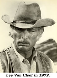Lee Van Cleef in 1972.