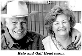 Kelo and Gail Henderson.