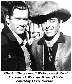 Jack Williams (stuntman) Clint quot Cheyenne quot Walker and