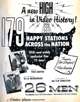 "Advertising for ""26 Men""."