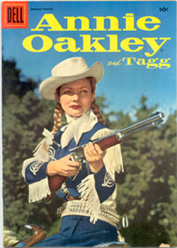 Annie Oakley Comic book.