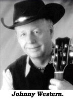 Johnny Western Singer actor Johnny Western s