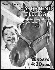 "TV GUIDE ad for ""My Friend Flicka""."