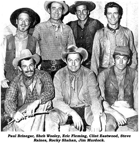 Image result for images of tv show rawhide