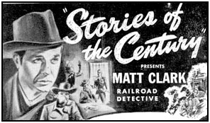 """Stories of the Century"" ad from TV GUIDE."