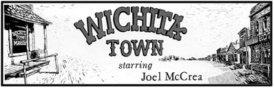 """Wichita Town"" logo."