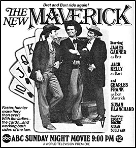 "TV GUIDE ad for ""The New Maverick""."