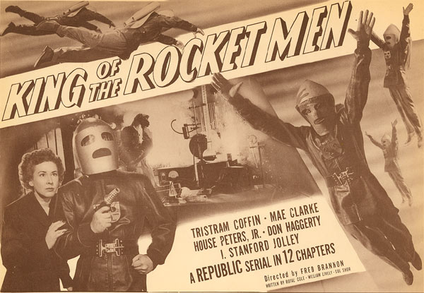"""King of the Rocket Men"" title card."