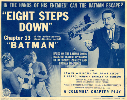 "Title card for Chapter 13 of ""Batman""."