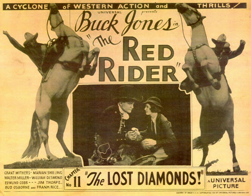 "Title card for ""The Red Rider""."