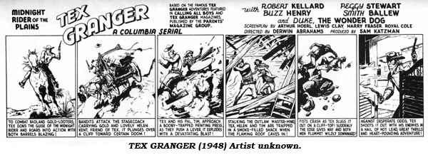 Tex Granger (1948) Artist unknown.