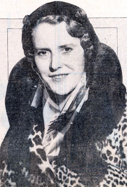 Silent Serial Star Ruth Roland in December 1931. Roland starred in 13 silent cliffhangers from 1915 to 1923.