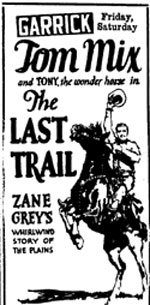 """The Last Trail"" ad"