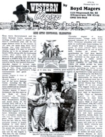Western Clippings Sample