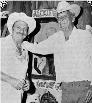 Jackie Coogan & Russell Hayden of Cowboy G-Men