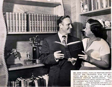 Gene and Ina Autry.