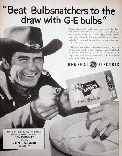 "G-E was one of the sponsors of ""Cheyenne""."