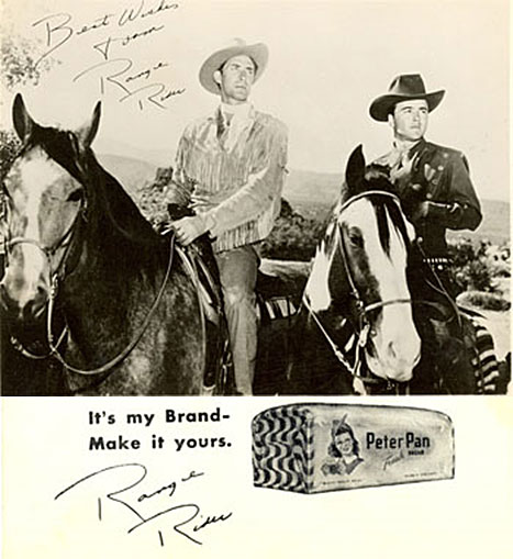Jock Mahoney was the Range Rider with Dick Jones as Dick West.