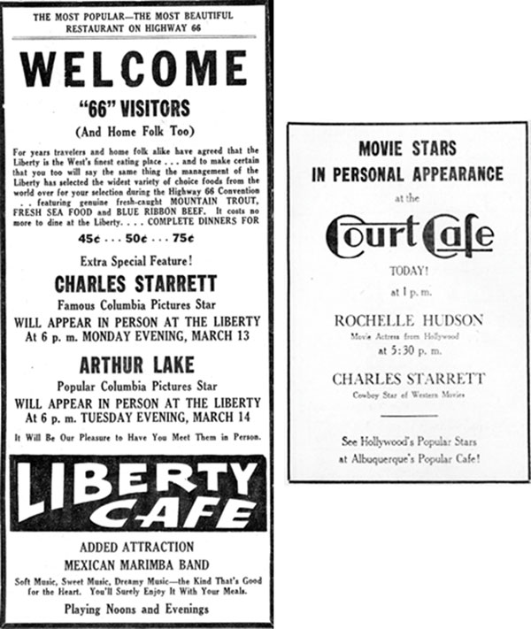 Newspaper ads from 3/14/39.