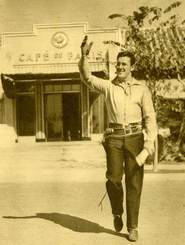 """Howdy! Welcome to another terrific array of Western Treasures photos!""  George O'Brien in 1932."