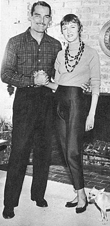 """Lawman""—John Russell with wife Renata."