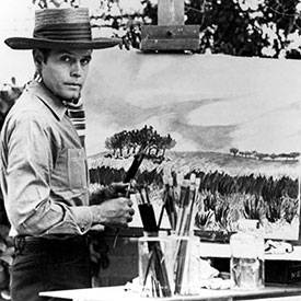 """Stoney Burke""—Jack Lord was also an accomplished painter."