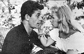 """Laredo"", ""Lawman""—Peter Brown and first wife of five, actress  Diane Jergens ('58-'60)."