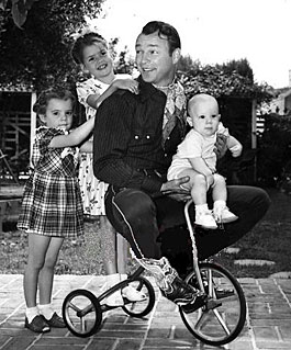 """Roy Rogers Show""—Roy Rogers takes the kids for a ride."