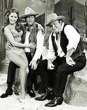 """Bonanza""'s Dan Blocker guest-starred twice on ""The Dean Martin Show"" in the '70s."