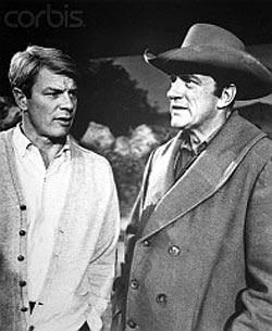 "James Arness' brother, Peter Graves, directed the ""Which Dr."" episode of ""Gunsmoke"" which aired March 19, 1966."